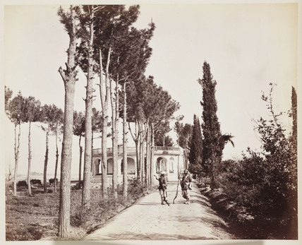 'Jellallabad [sic] The Amir's Garden Sidewalk', 1879.