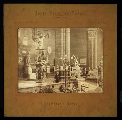 Florence, Loggia dei Lanzi, c 1870.