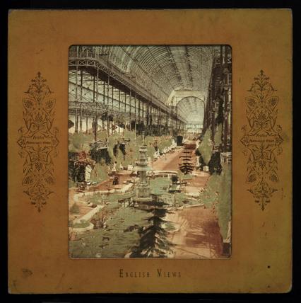 Crystal Palace nave, c 1870.