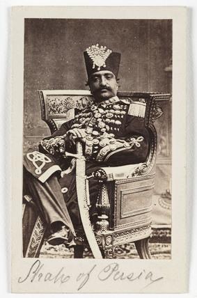 'Shah of Persia', c 1875.