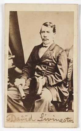 'David Livingstone', c 1870.