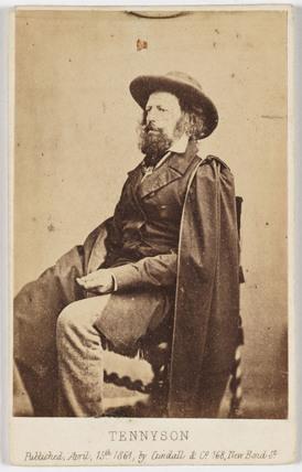 'Tennyson', 1861.