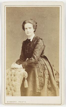 Queen of Portugal, c 1865.