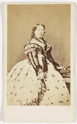 Queen Isabella of Spain, c 1865.
