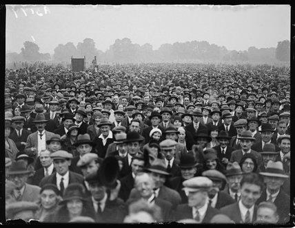 Unemployed demonstration, Hyde Park, London, 23 September 1931.