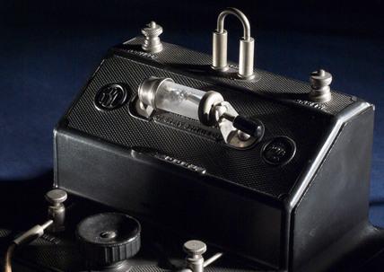 Brownie crystal radio receiver, c 1924.