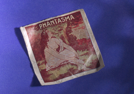 Condom packaging, 'Phantasma', 1930-1940.