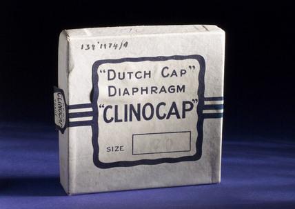 Rubber diaphragm, 'Clinocap', 1930-1960.