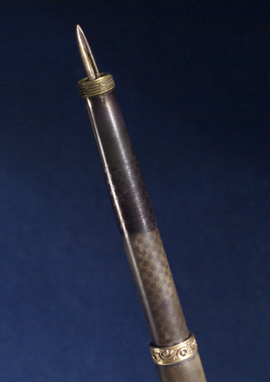 Fountain pen, 1896.