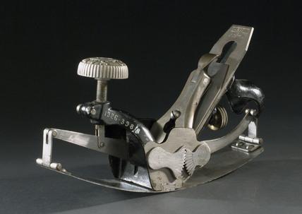 Metal compass plane, 1925.