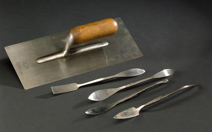Plasterer's tools, 1926.