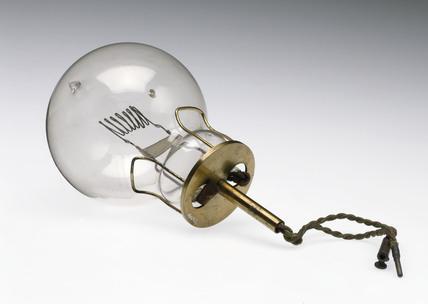 Light bulb, 1900-1960.