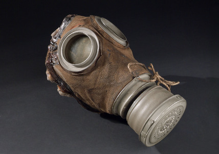 German gas mask, 1915-1918.