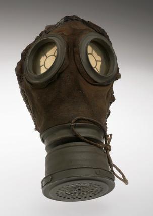 German gas mask, 1915-1918.