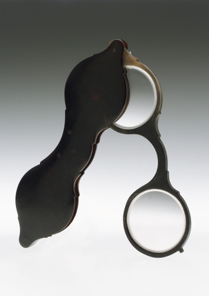 Hand spectacles, 1780-1850.