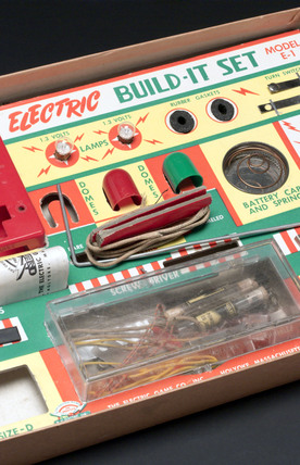 Model E-1 'Electric Build-it Set', USA, 1956-1960.