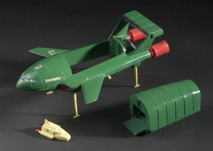 Dinky toy No 101, 'Thunderbird 2', 1966-1973.