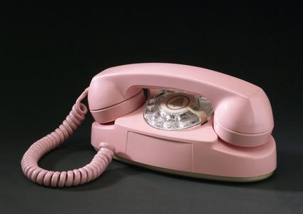 'Princess' dial telephone, c 1950s.