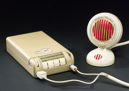 Minifon dictating machine, 1966.