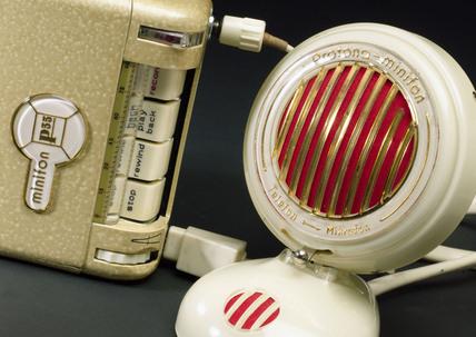 Minifon dictating machine, 1966.
