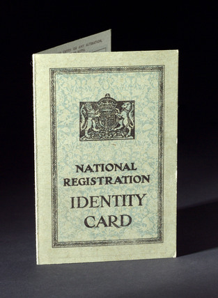 National Registration Identity Card, 1951.