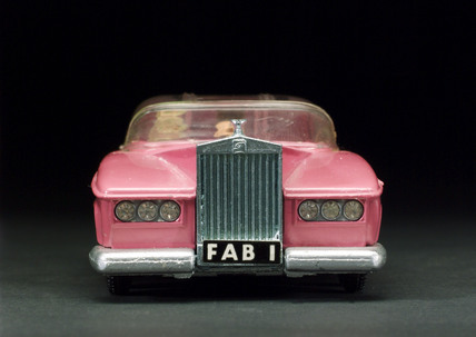 Lady Penelope's  'Fab 1' die-cast metal car from Thunderbirds, 1973.