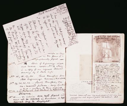 Sir John Herschel's copybook, 1839.