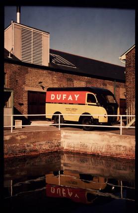 Dufay delivery van, c 1950.