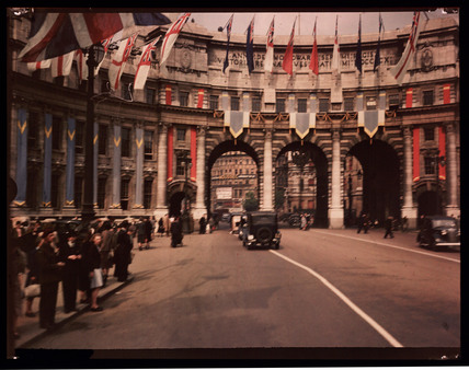 Admiralty Arch, London, 1945.