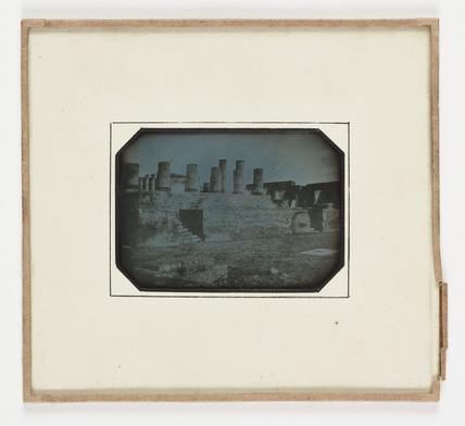 'Pompeii The Temple of Juipiter', 1847.