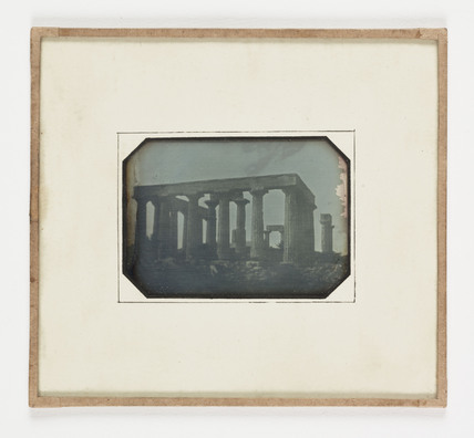 'Athens The Temple of Jupiter Panhellius', 1847.