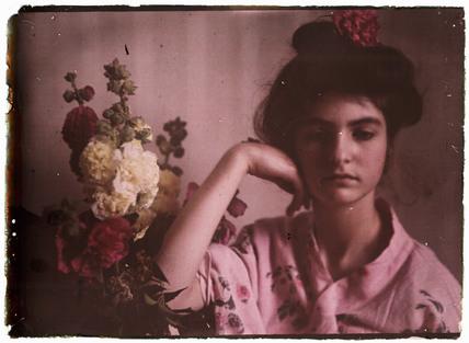 Girl in a kimino, 1908.