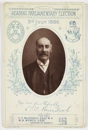 CT Murdoch, 1886.