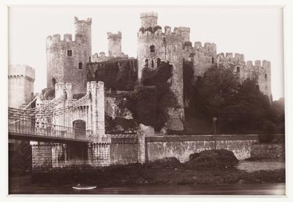 'Conway Castle', c 1880.