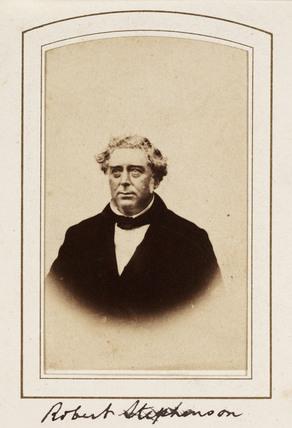 'Robert Stephenson', c 1859.