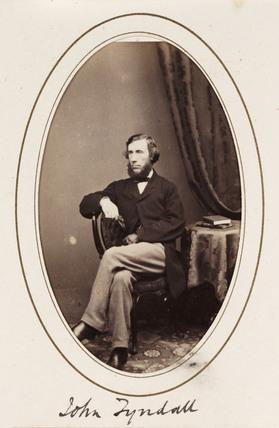 'John Tyndall', 1865.