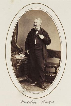 'Victor Hugo', c 1870.