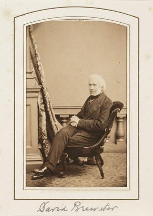 'David Brewster', c 1866.