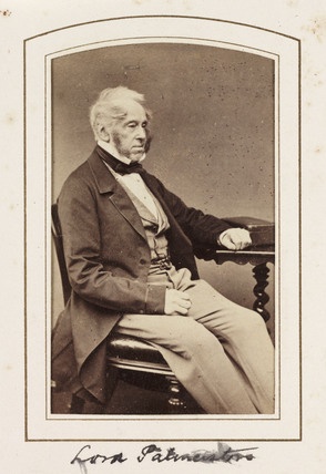 'Lord Palmerston', c 1860.