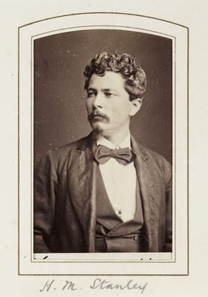 'H M Stanley', c 1871.