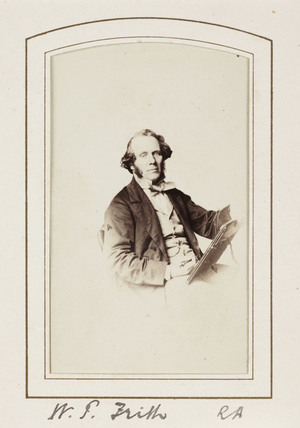 'W. P. Frith RA', c 1865.