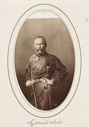 'Garibaldi', c 1870.