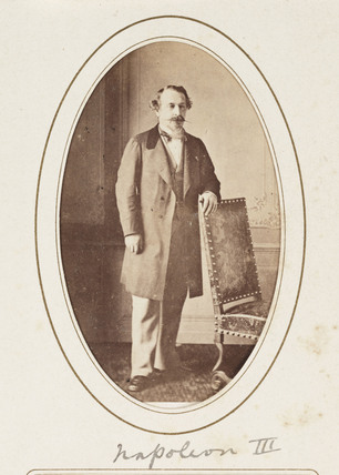 'Napoleon III', c 1865.