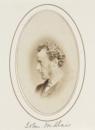 'John Millais', c 1863.