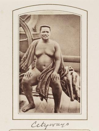 'Cetywayo', c 1880.