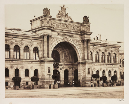 Palais de l'Industrie, Paris, c 1865.