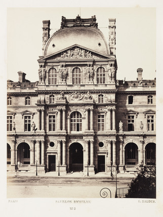 'Pavillon Richelieu', Paris, c 1865.