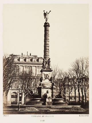 39 fontaine du palmier 39 paris c 1865 by baldus edouard denis at science and society picture - Edouard denis envers du decor ...