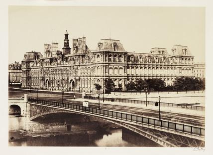 'Hotel de Ville', Paris, c 1865.