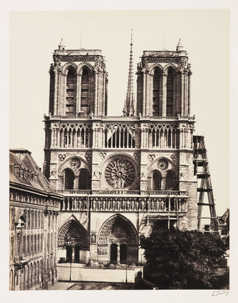 Notre Dame, Paris, c 1865.